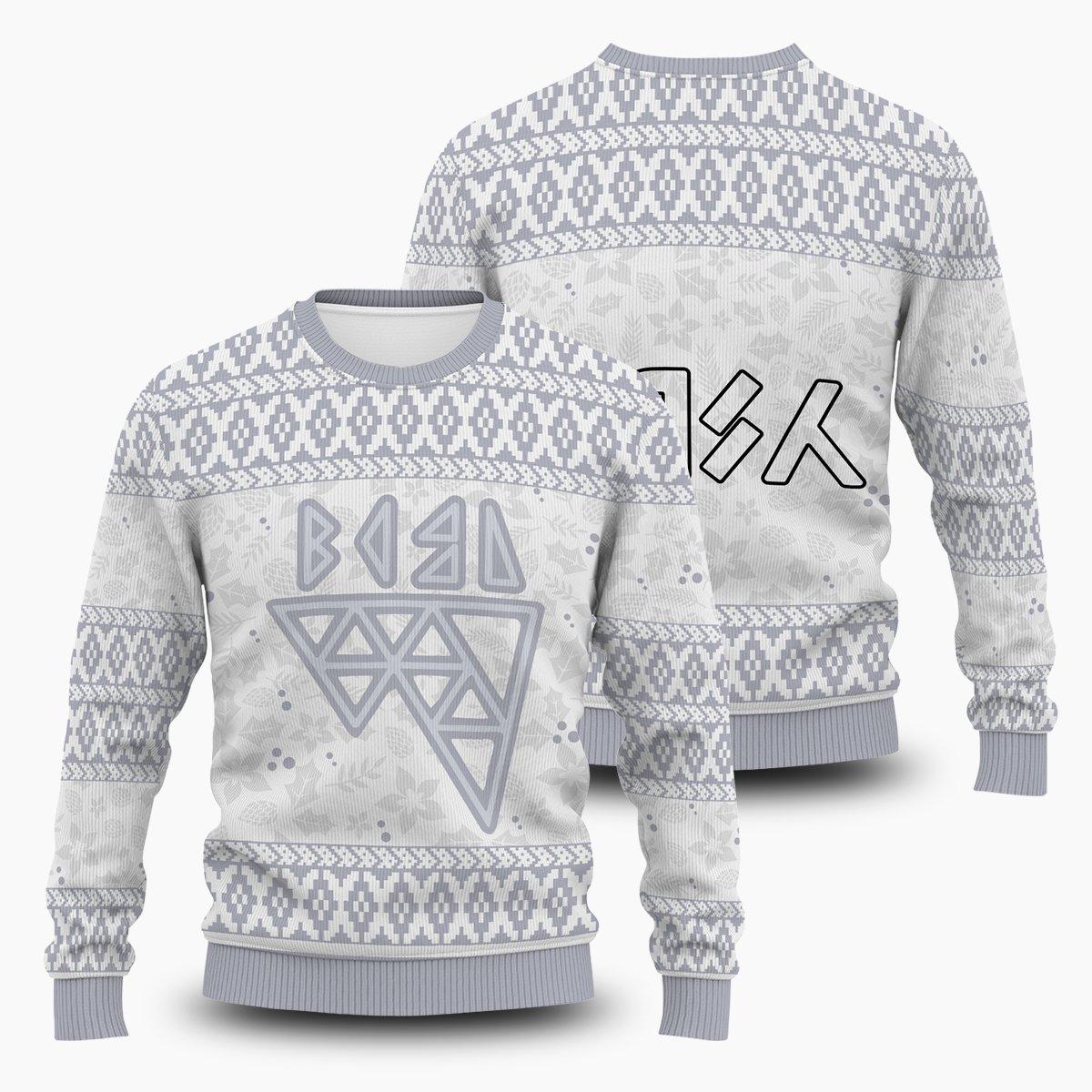 Pokemon Ice Uniform Unisex Wool Sweater FDM0310 S Official Otaku Treat Merch