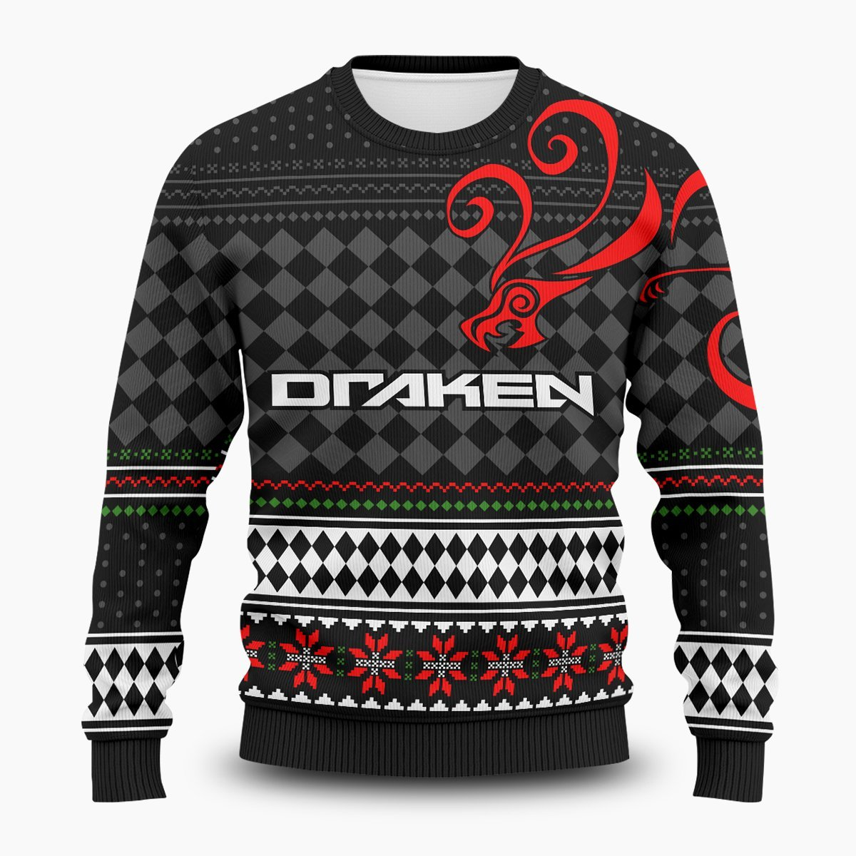 Ryuguji Xmas Unisex Wool Sweater FDM0310 S Official Otaku Treat Merch