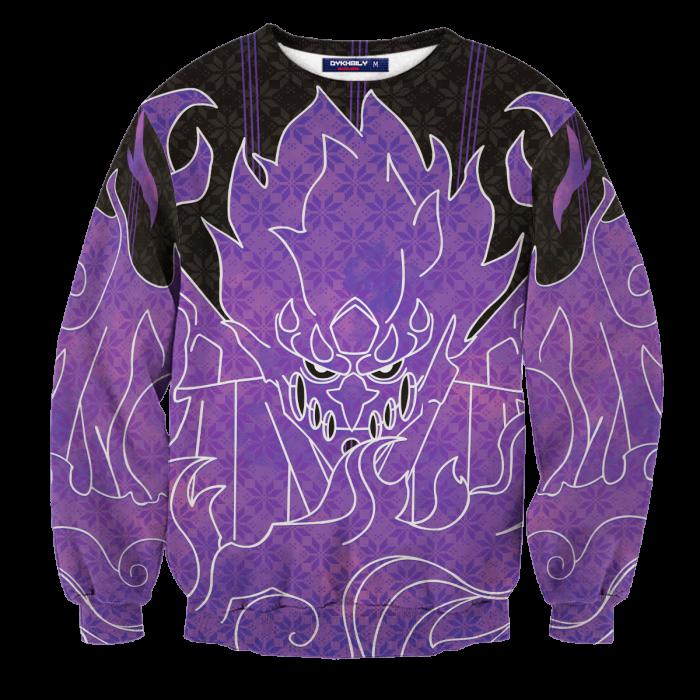 Sasuke Armor Unisex Wool Sweater FDM0310 S Official Otaku Treat Merch