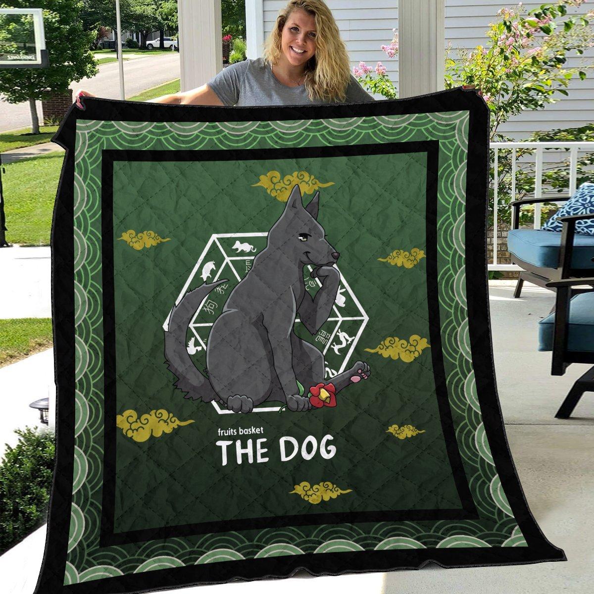 shigure the dog quilt blanket 894151 - Otaku Treat