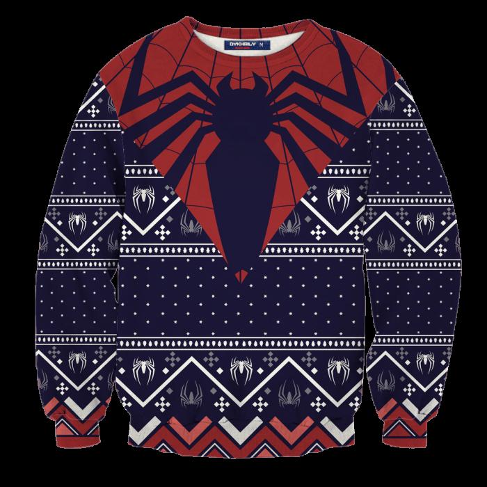 Spider Sense Christmas Unisex Wool Sweater FDM0310 S Official Otaku Treat Merch