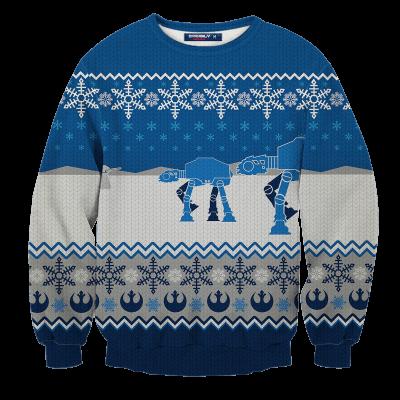 Star Wars Christmas Unisex Wool Sweater FDM0310 S Official Otaku Treat Merch