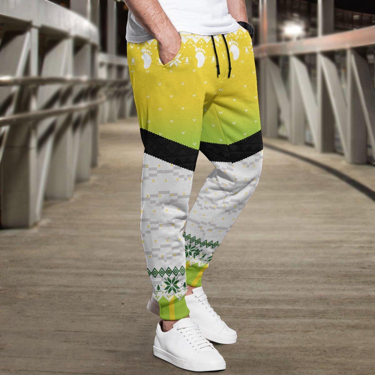 team itachiyama christmas jogger pants 931020 - Otaku Treat