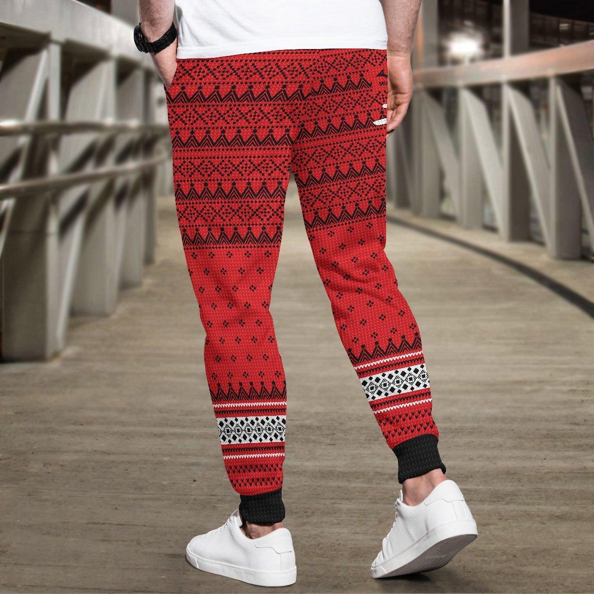 team nekoma christmas jogger pants 616817 - Otaku Treat