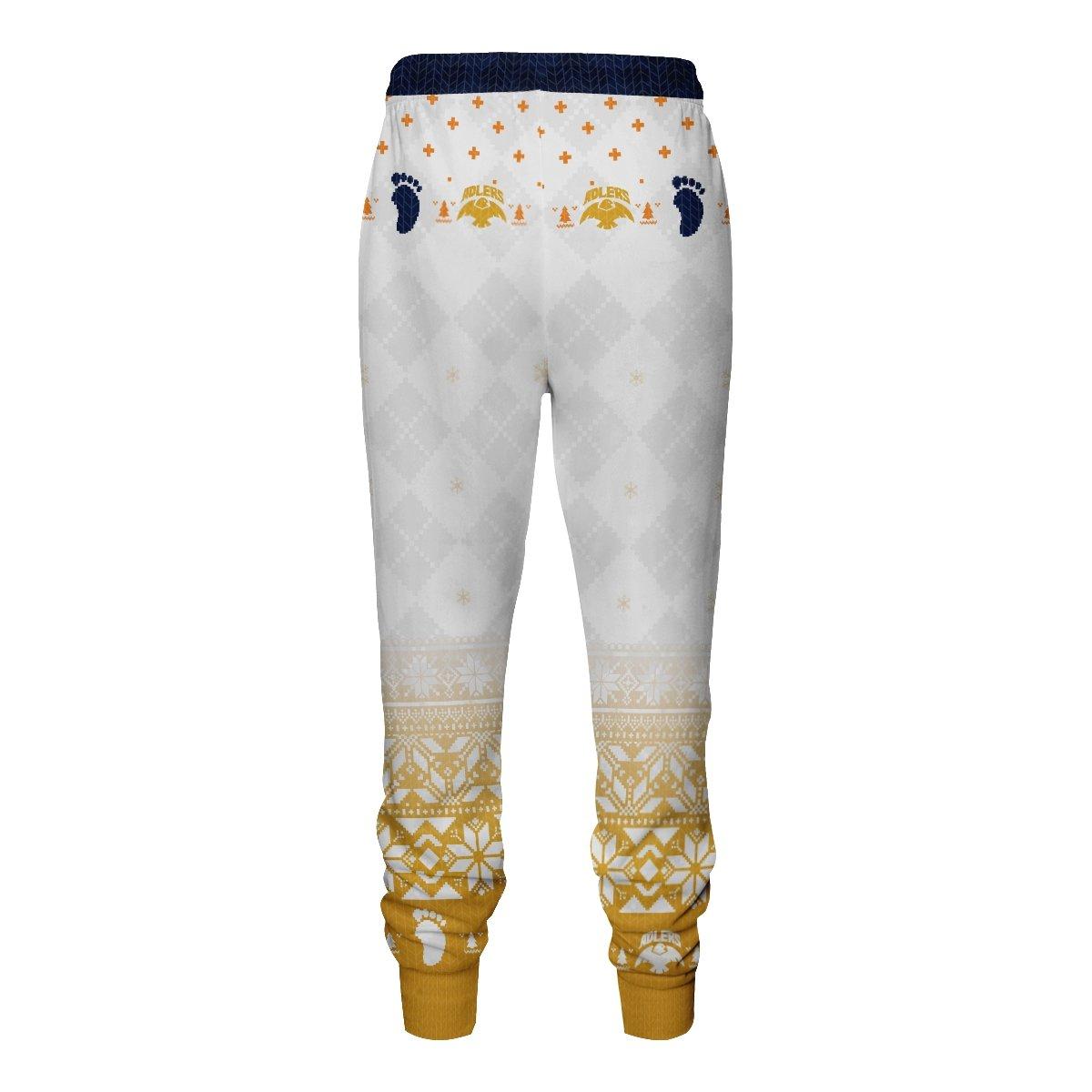 team schweiden adlers christmas jogger pants 129757 - Otaku Treat