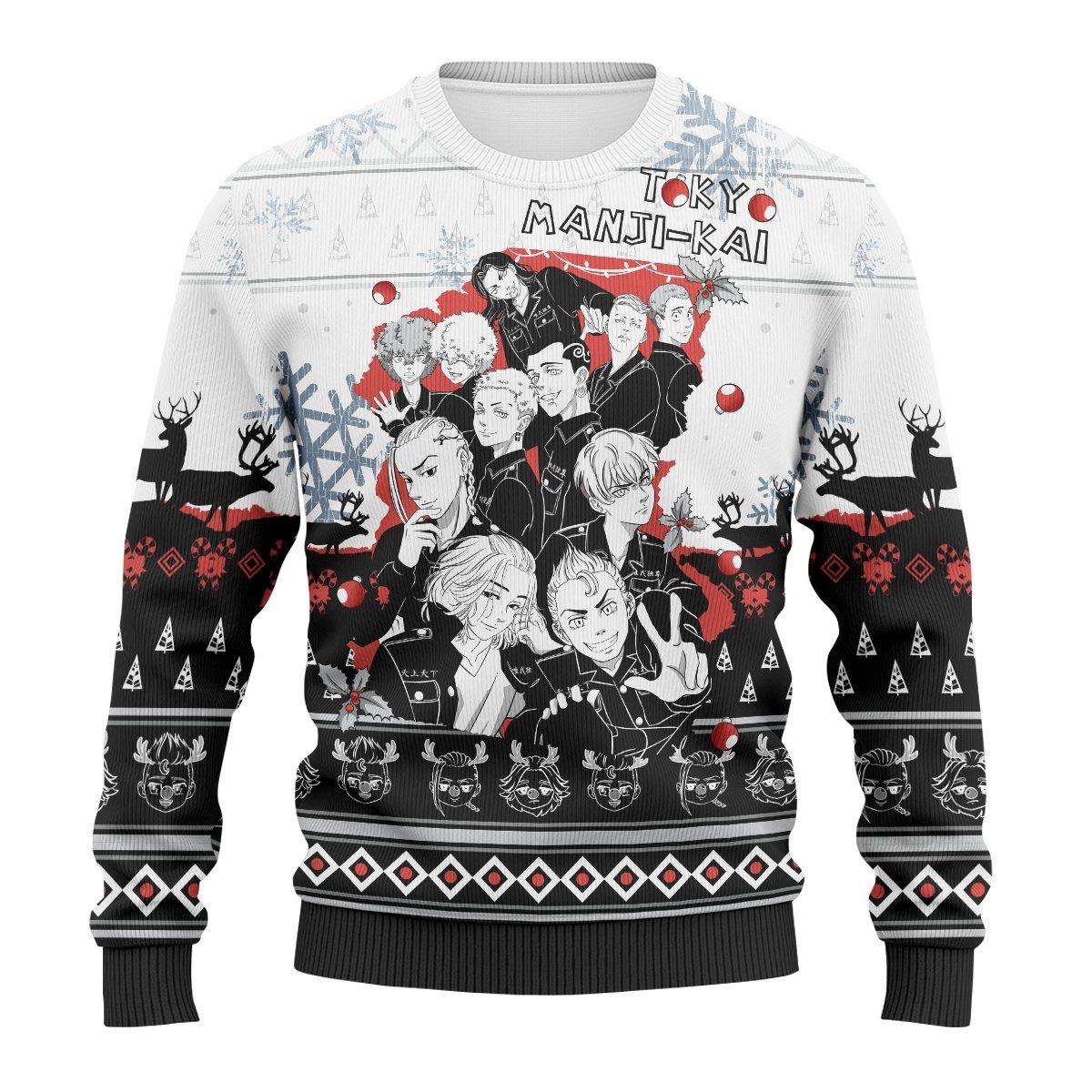 Toman Xmas Unisex Wool Sweater FDM0310 S Official Otaku Treat Merch