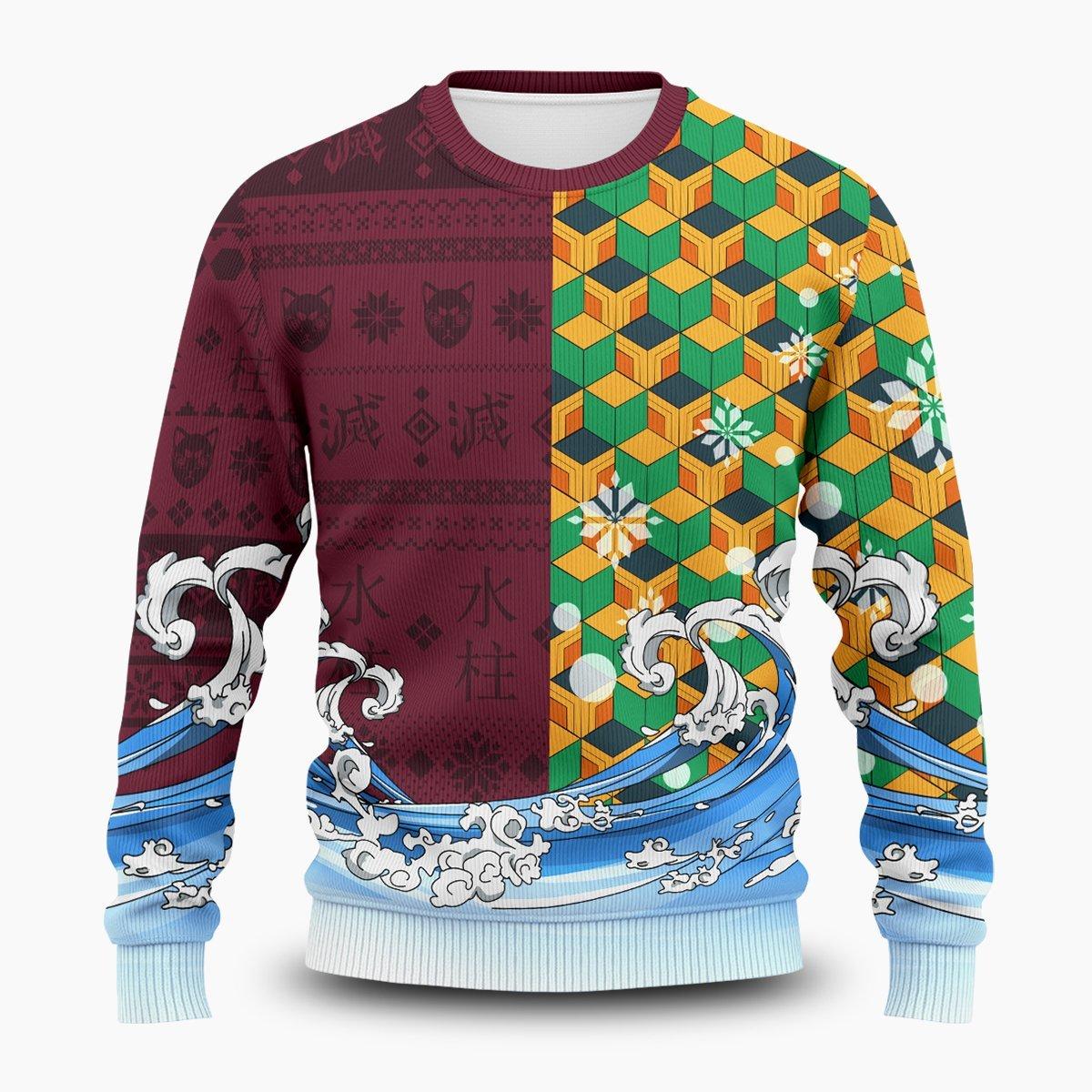 Tomioka Blade Unisex Wool Sweater FDM0310 S Official Otaku Treat Merch