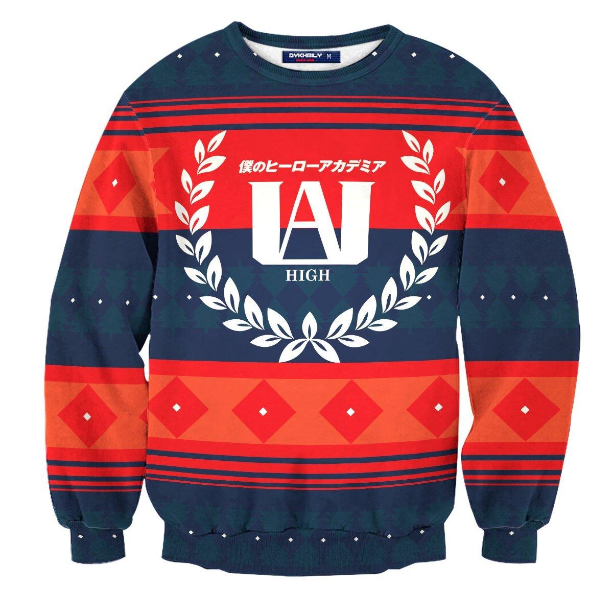 UA High Christmas Unisex Wool Sweater FDM0310 S Official Otaku Treat Merch