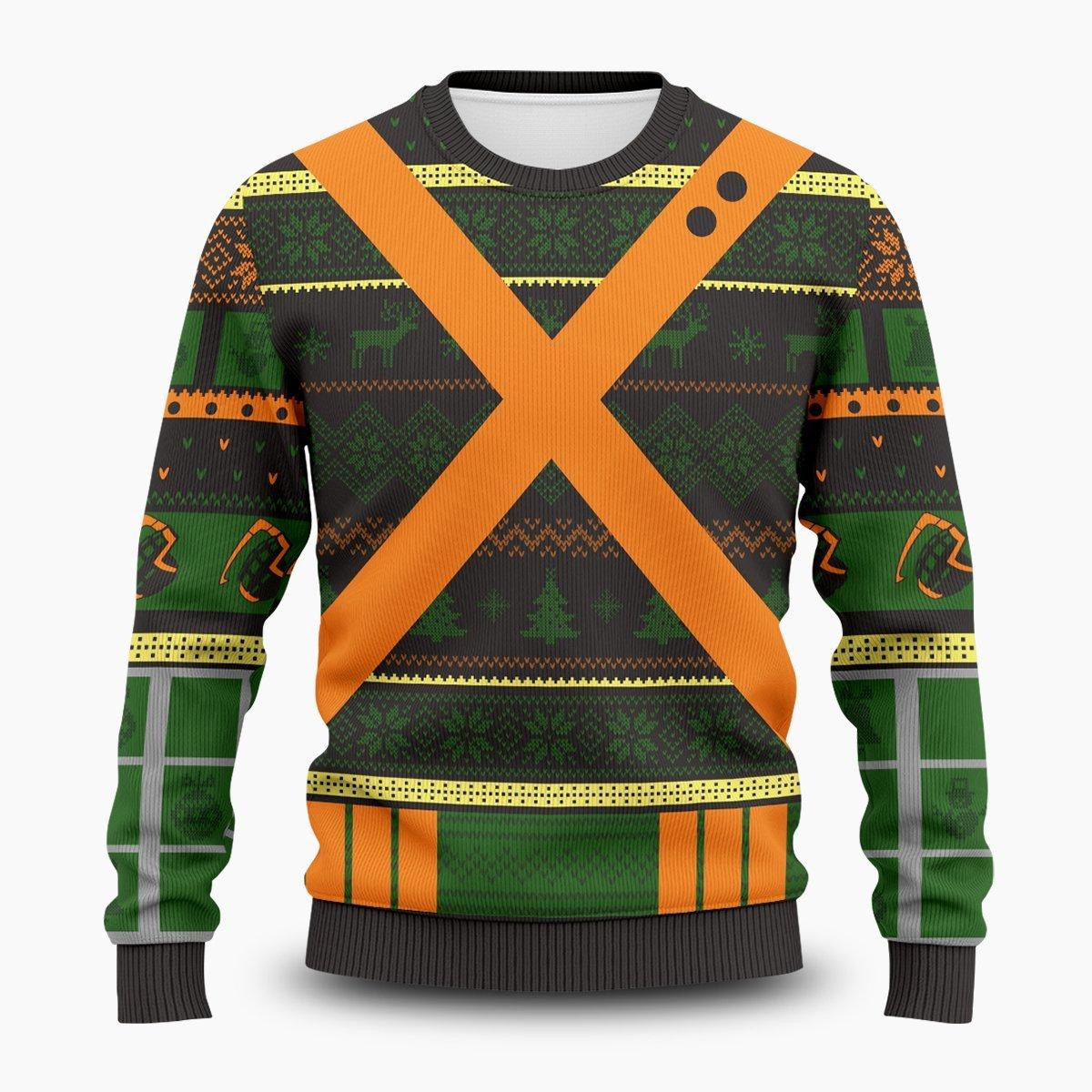 UA High Katsuki Unisex Wool Sweater FDM0310 S Official Otaku Treat Merch