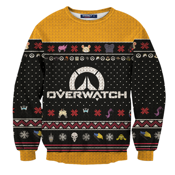 Ultimate Overwatch Christmas Unisex Wool Sweater FDM0310 S Official Otaku Treat Merch