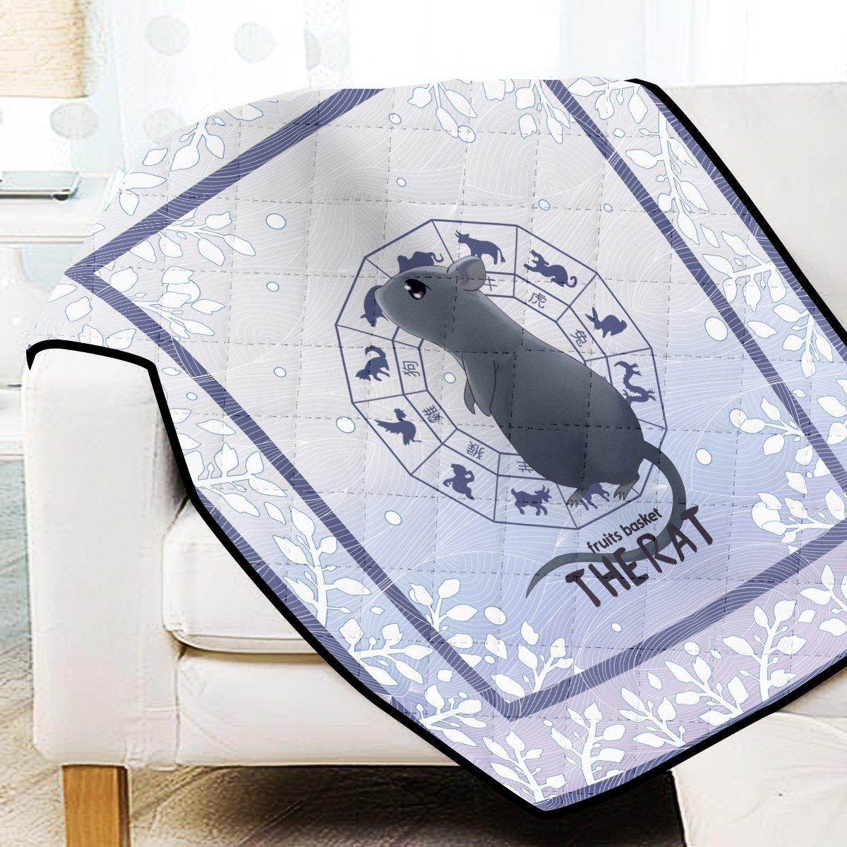 Yuki the Rat Quilt Blanket Official Merch FDM3009 Twin Official Otaku Treat Merch