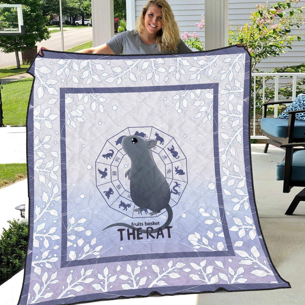 yuki the rat quilt blanket 721706 - Otaku Treat