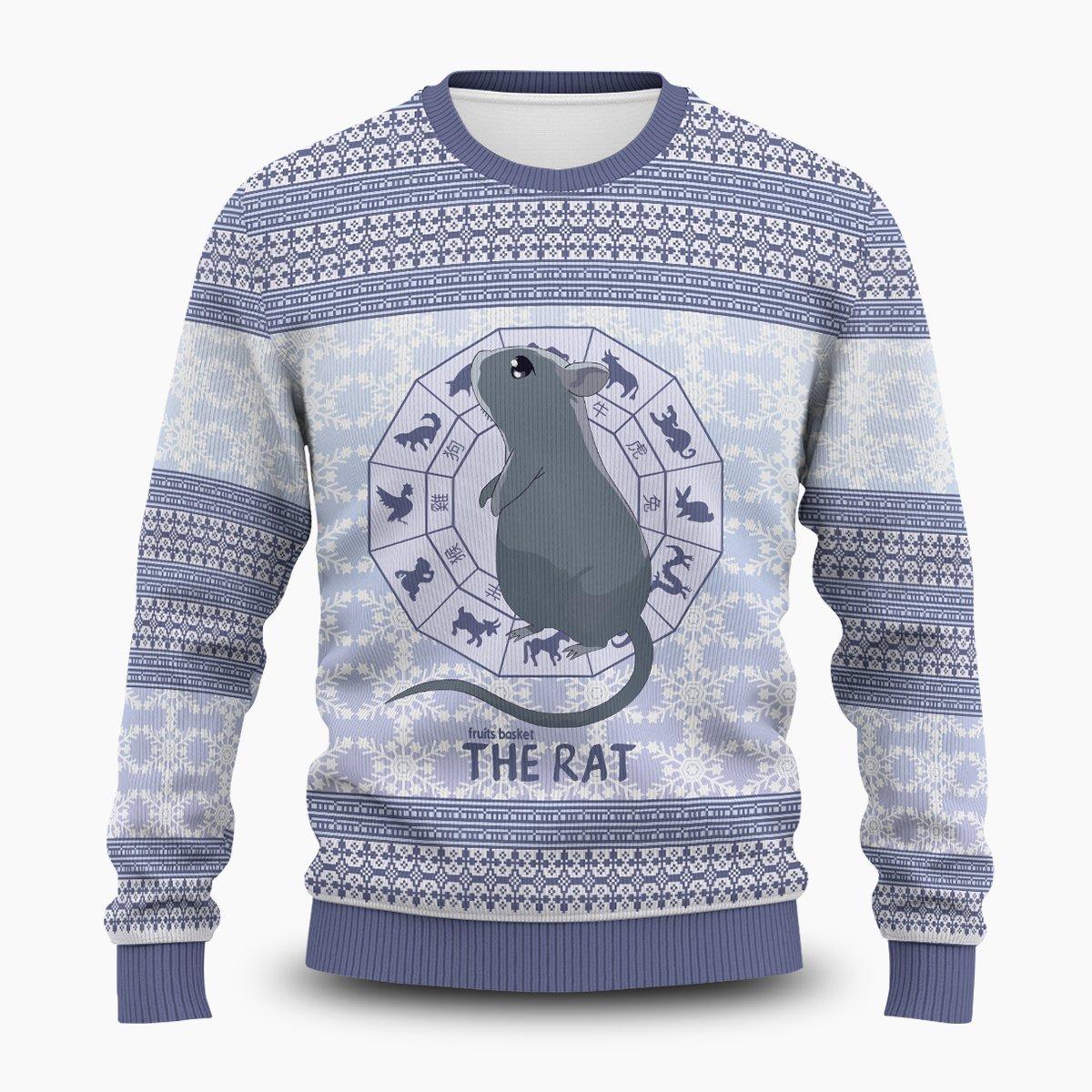 Yuki the Rat Unisex Wool Sweater FDM0310 S Official Otaku Treat Merch