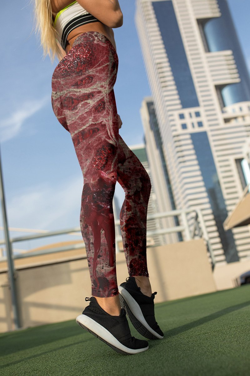 zombie unisex tights 615195 - Otaku Treat